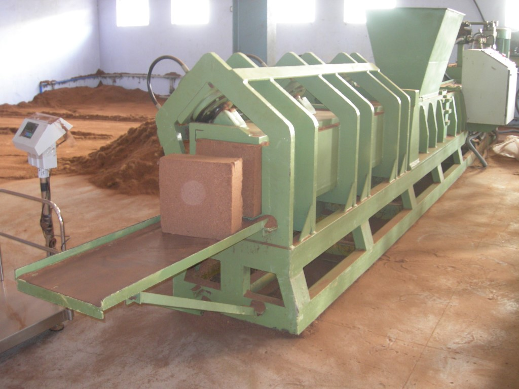 Bales Pressing Machine