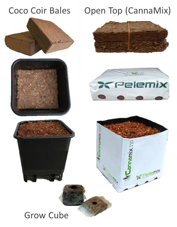 Coco Coir Products Cannabis